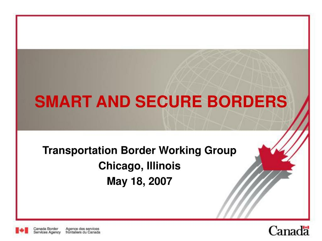 smart and secure borders l.