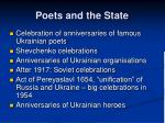 poets and the state