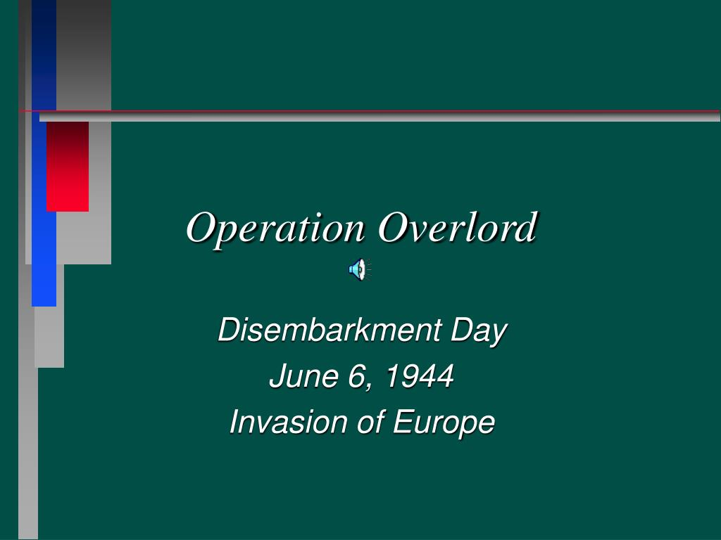 operation overlord l.