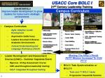 usacc core bolc i 21 st century leadership training