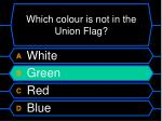 which colour is not in the union flag