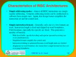 characteristics of risc architectures13