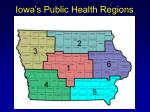 iowa s public health regions