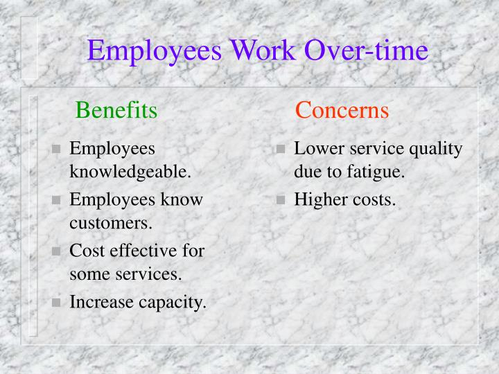 Employees knowledgeable.
