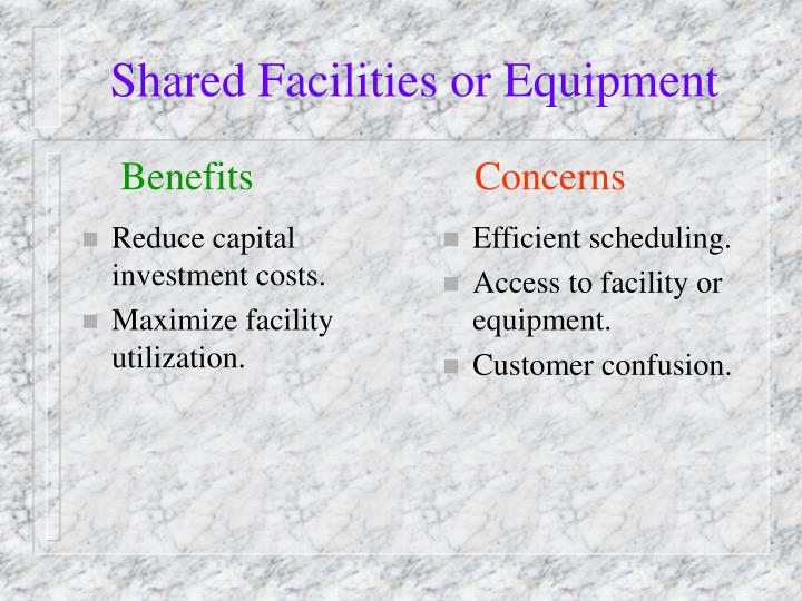 Reduce capital investment costs.