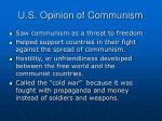 u s opinion of communism