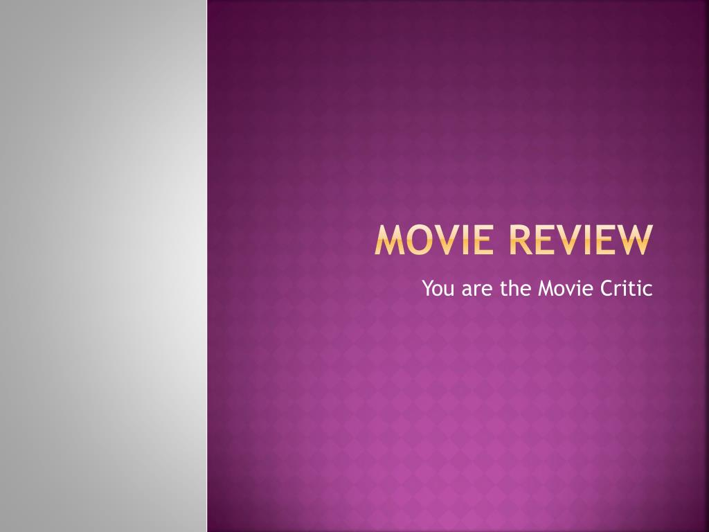 movie review l.