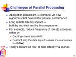 challenges of parallel processing16