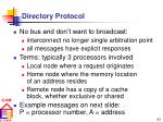directory protocol61