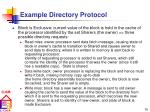 example directory protocol68