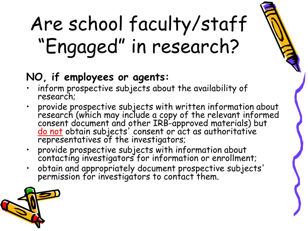 """Are school faculty/staff """"Engaged"""" in research?"""