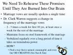 we need to rehearse these promises until they are burned into our brain