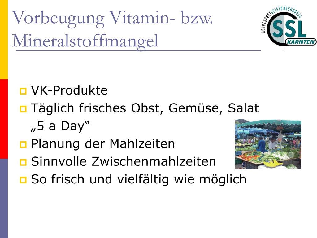 VK-Produkte