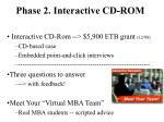 phase 2 interactive cd rom