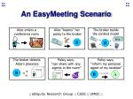 an easymeeting scenario