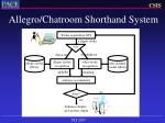allegro chatroom shorthand system28