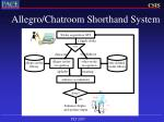 allegro chatroom shorthand system33