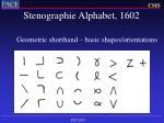 stenographie alphabet 160218