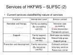 services of hkfws slifsc 2
