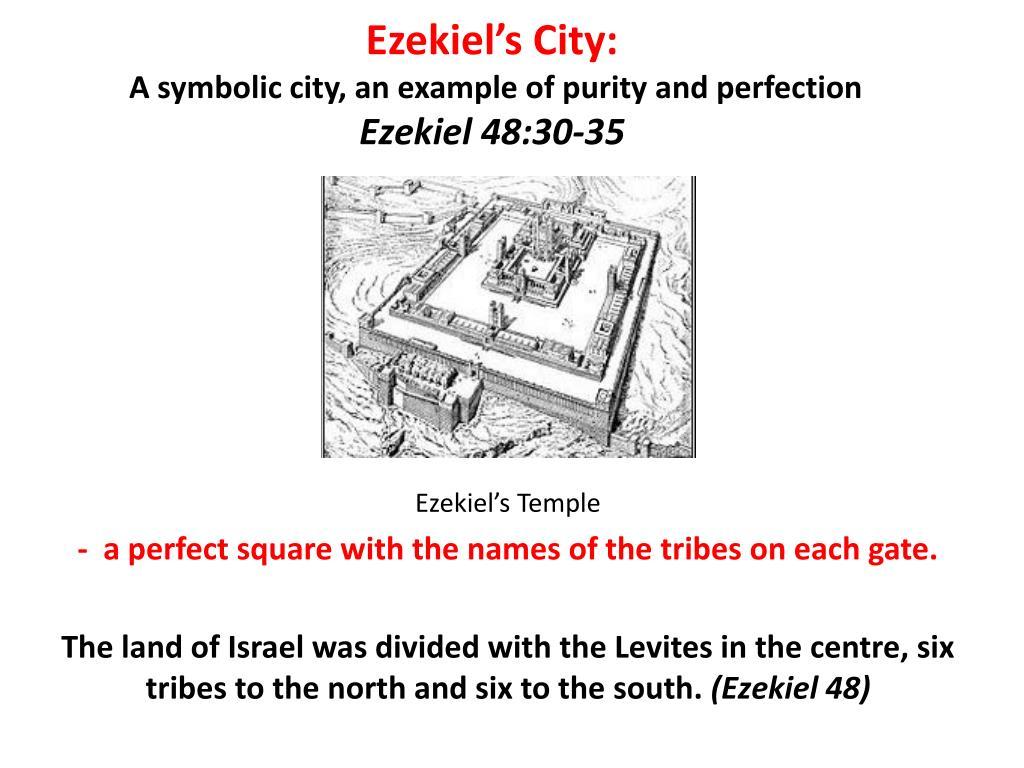 Ezekiel's City: