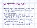 ink jet technology7