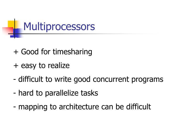 Multiprocessors3