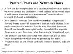protocol ports and network flows