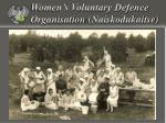 women s voluntary defence organisation naiskodukaitse