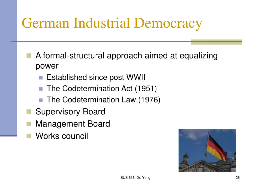 German Industrial Democracy