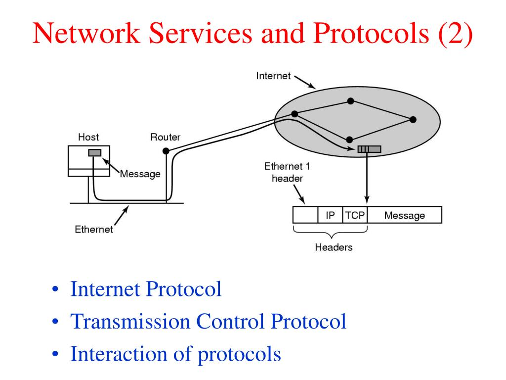 Network Services and Protocols (2)