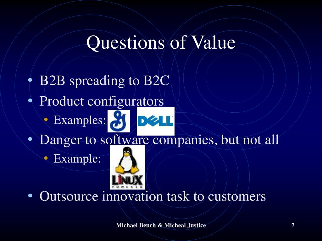 Questions of Value