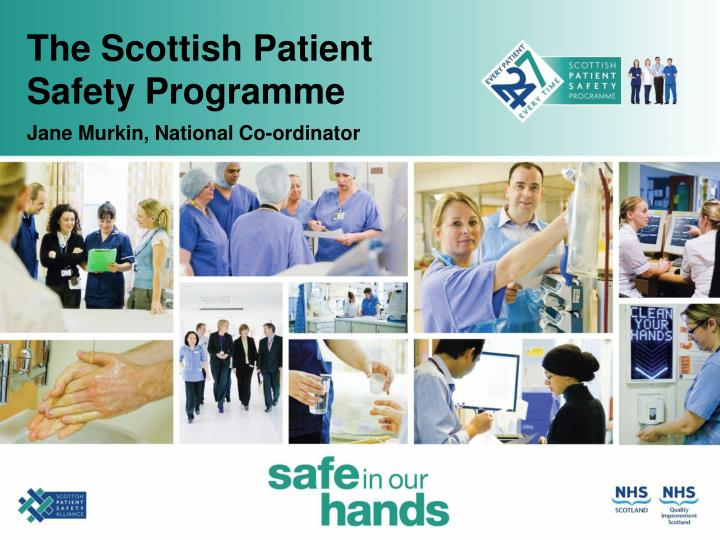 the scottish patient safety programme n.