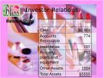 investor relations9