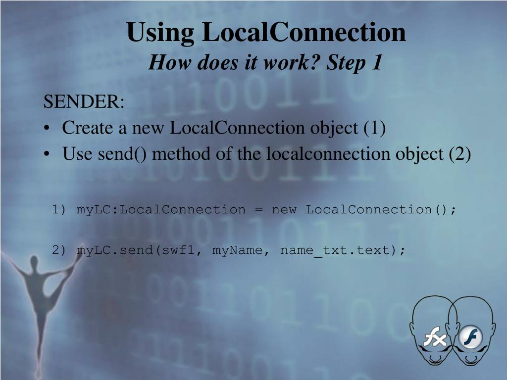 Using LocalConnection