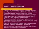 part 1 course outline