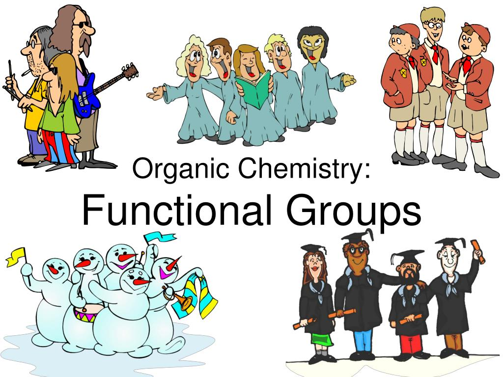 organic chemistry functional groups l.