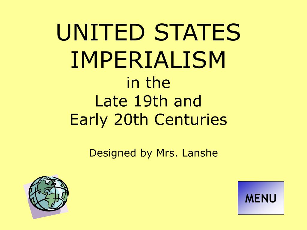 imperialism in the late 1800s and