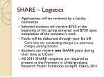 share logistics