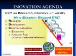 inovation agenda