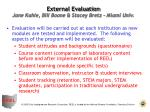 external evaluation jane kahle bill boone stacey bretz miami univ