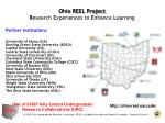 ohio reel project r esearch e xperiences to e nhance l earning
