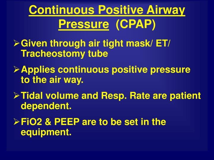 Ppt Mechanical Ventilation Powerpoint Presentation Id