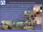 facilities instrumentation