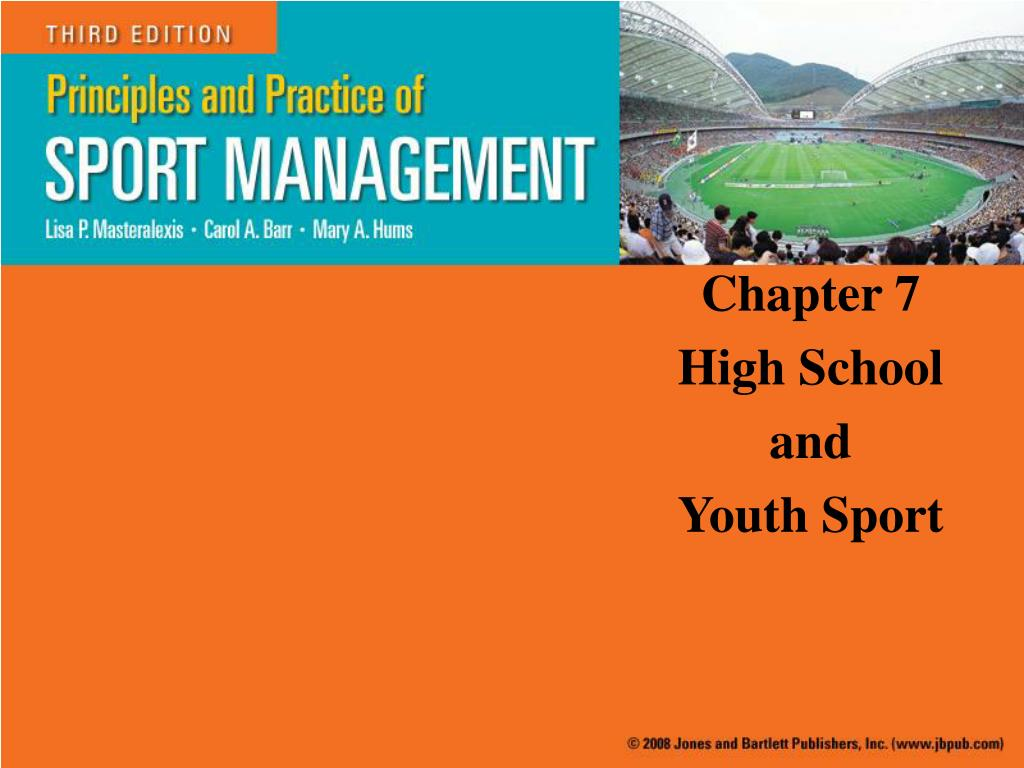 chapter 7 high school and youth sport l.