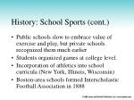 history school sports cont