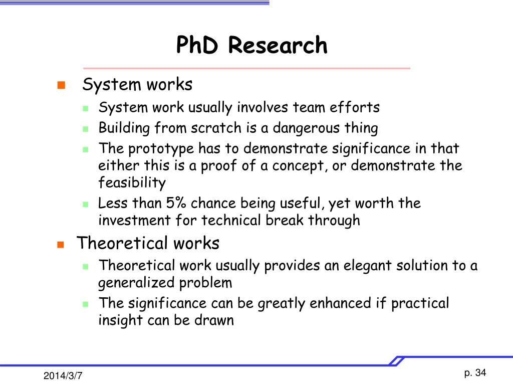 PhD Research
