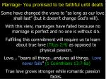 marriage you promised to be faithful until death3