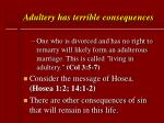 adultery has terrible consequences48
