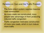 reliance on cars and the traffic problem20