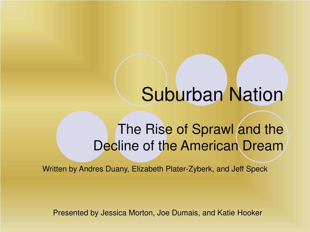 suburban nation l.